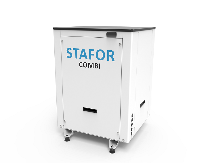 System STAFOR COMBI HTME - thermodynamic system for buildings heating