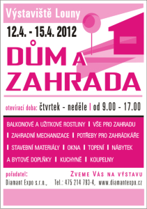 We invite you to visit our partner in Czech Republic TermoSol in exhibition Dum a Zahrada 12.04.2012 - 15.04.2012 in Louny, Czech Republic.