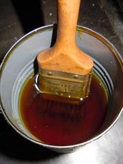 Natural linseed oil VARNISH for wood