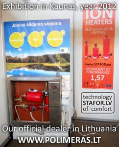 Stafor partner from Lithuania Polimeras UAB participated in exhibition in Kaunas, Lithuania.