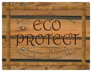 Защитное покрытие для дерева ECO PROTECT