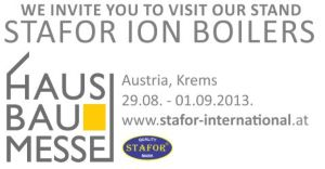 We invite you to visit our partner WINGA G.E.S.mbH in exhibition HAUS BAU MESSE 29.08.2013 - 01.09.2013 Krems, Austria