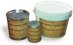 Linseed oil protective coating for wood ECO PROTECT