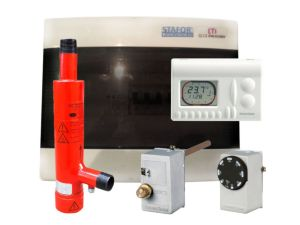 Ion heating boiler STAFOR 3-5kW complete set