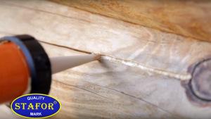 Герметизация и утепление сруба