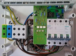 Control panel STAFOR thermostat