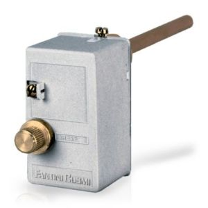 Emergency thermostat - against overheating