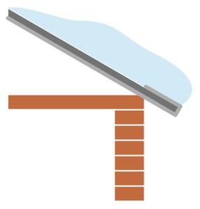 Крыша покрытая термокраской