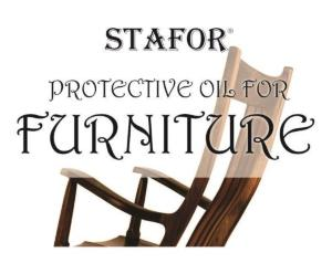 Oil for furniture from wood and rottan