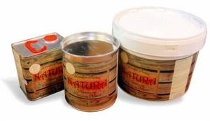 Sėmenų aliejaus dažai-beicas NATURA