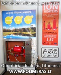 Izstāde Lietuvā, Kauņā, Polimers un STAFOR jonu kalti.