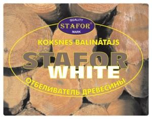 STAFOR WHITE koksnes balinātājs