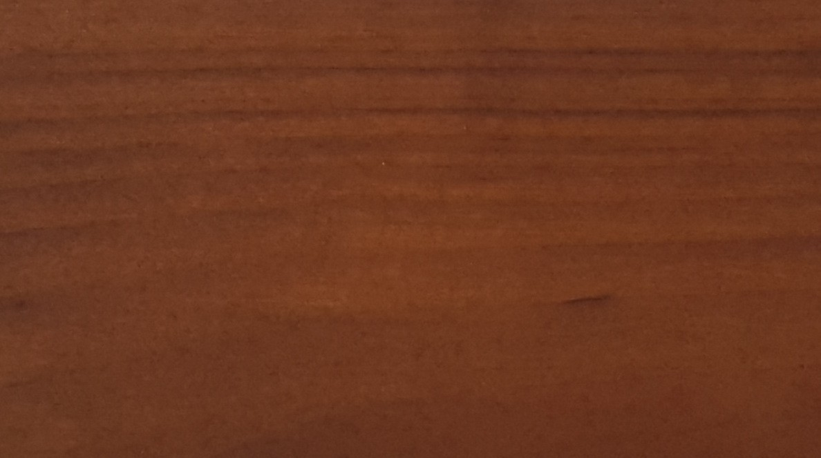 Painted with NATURA walnut thermowood