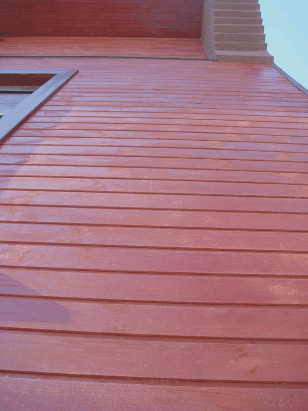 Linseed paint - stain NATURA mahagoni