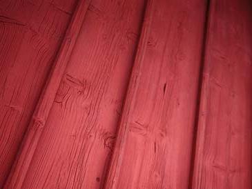 Шведская краска классически красная