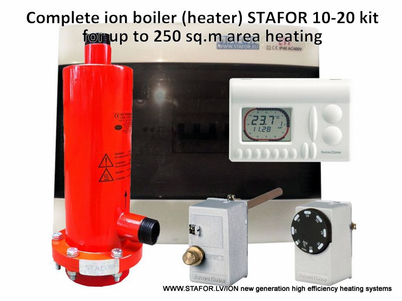 Ion boiler (heater) STAFOR 10-20kW complete set