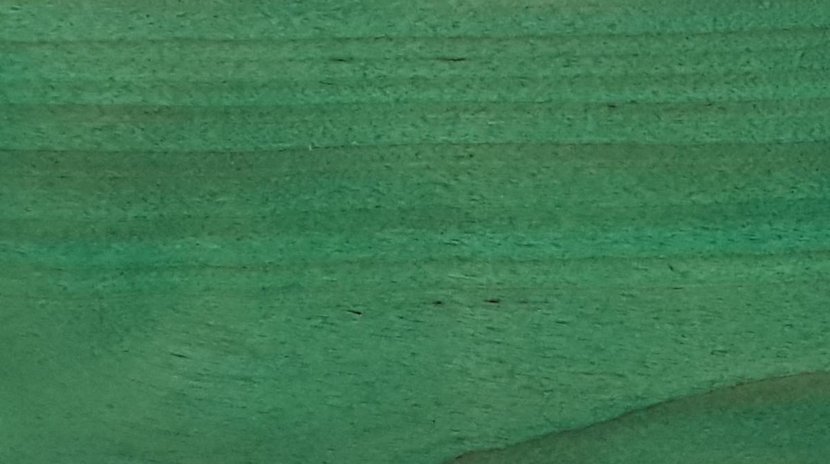 Balināts un noklāts ar zaļu NATURA termodēlis