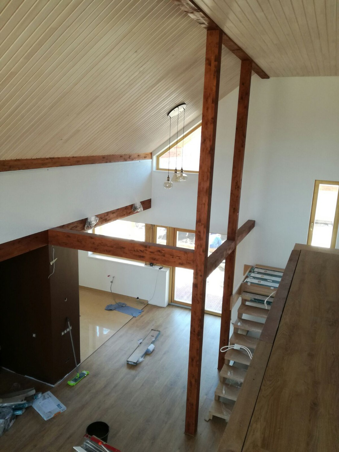 Linseed paint - stain NATURA walnut
