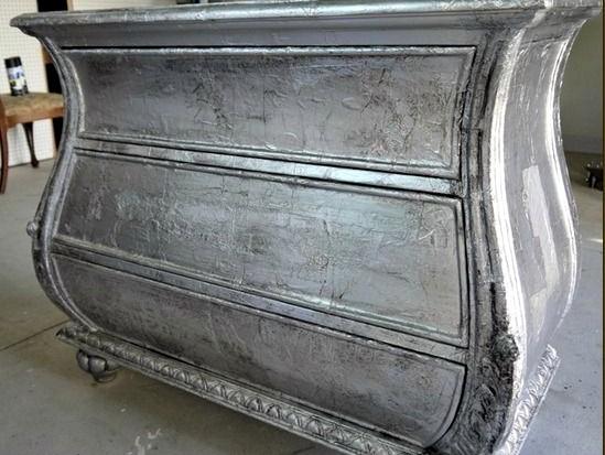 Пример приминения алюминиевой пудры