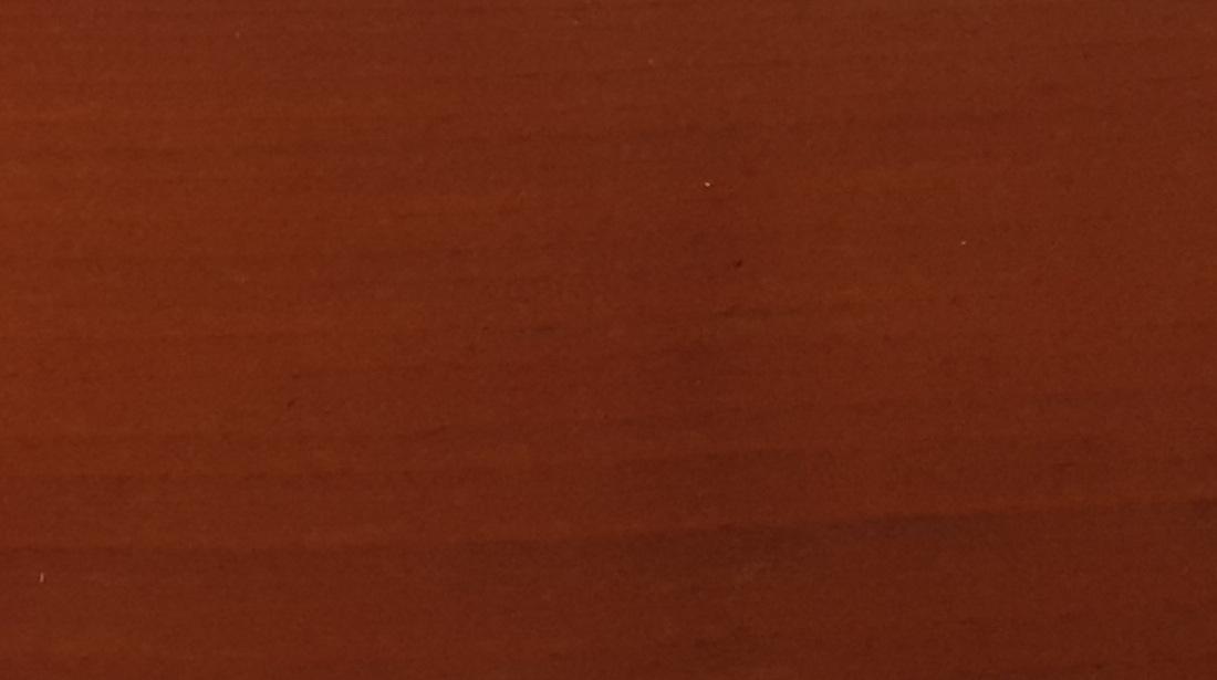 Термодоска обработанная коричневой NATURA в два слоя