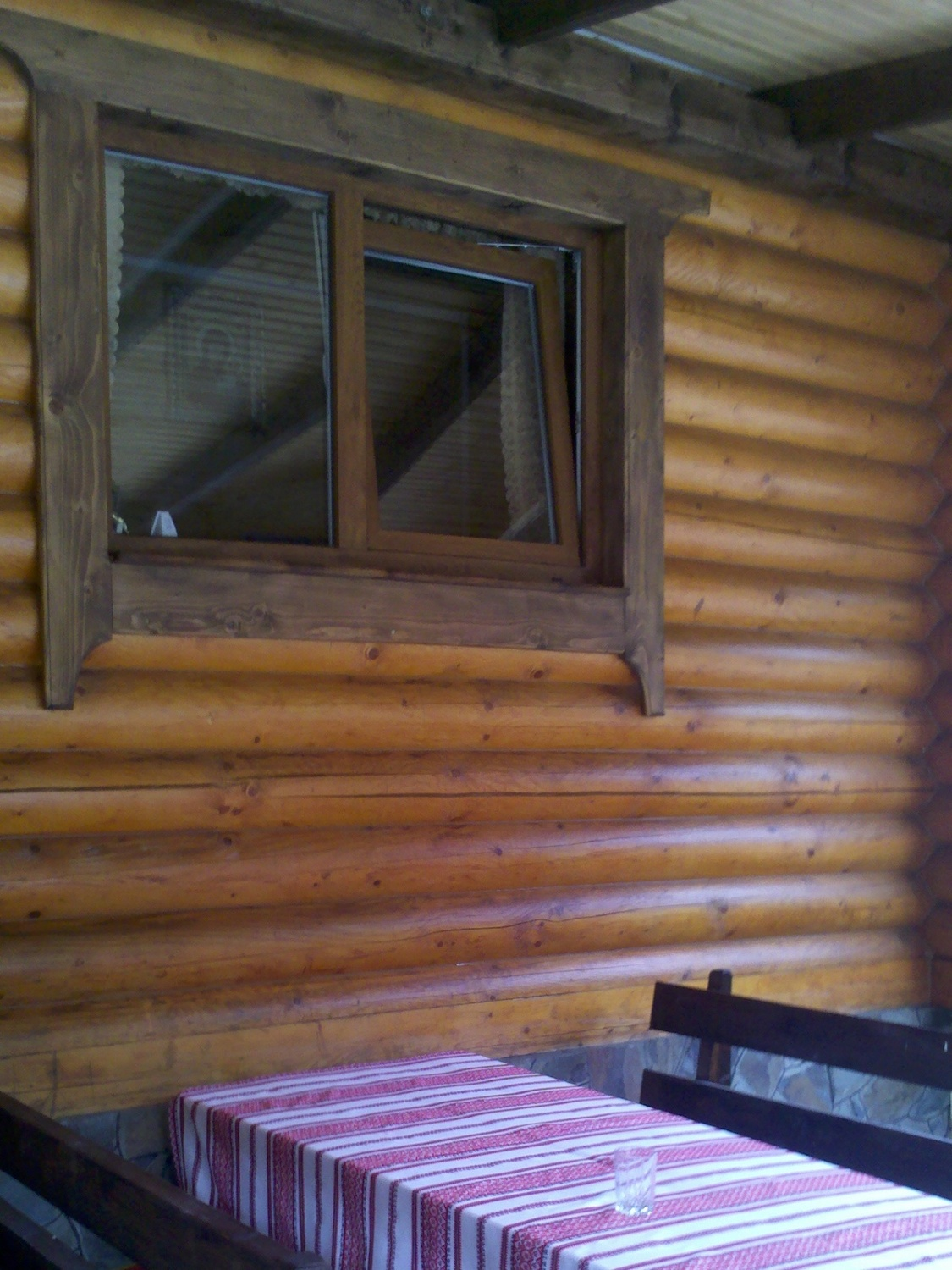 Sealant for log houses GULBUVE brown