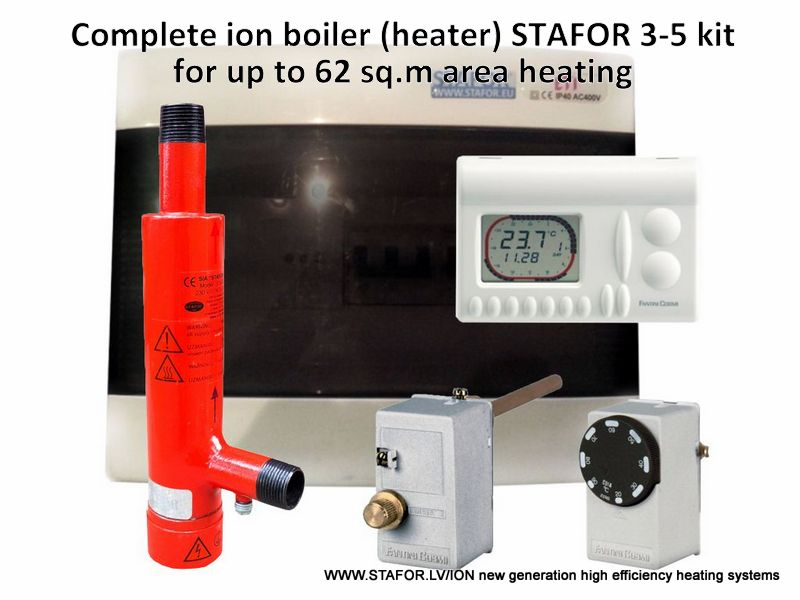 Ion boiler (heater) STAFOR 3-5kW complete set