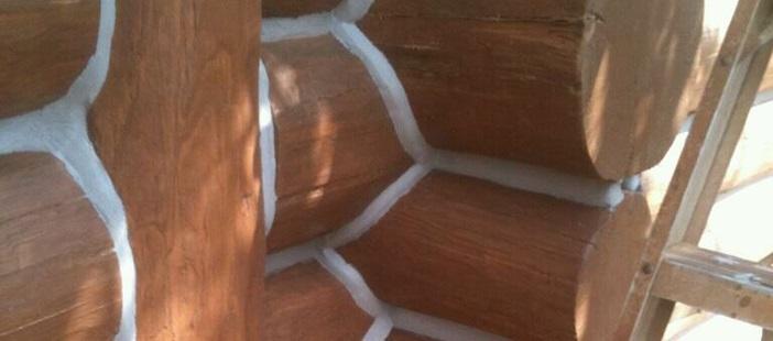 Sealant for log houses GULBUVE white