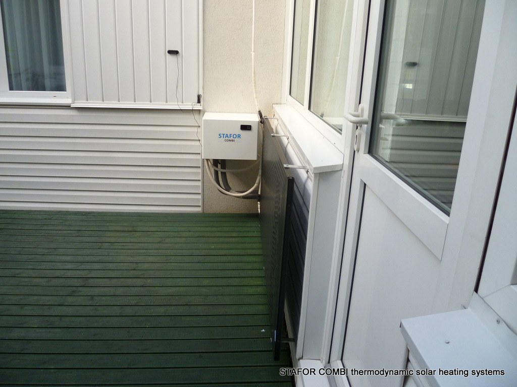 Thermodynamic system STAFOR COMBI