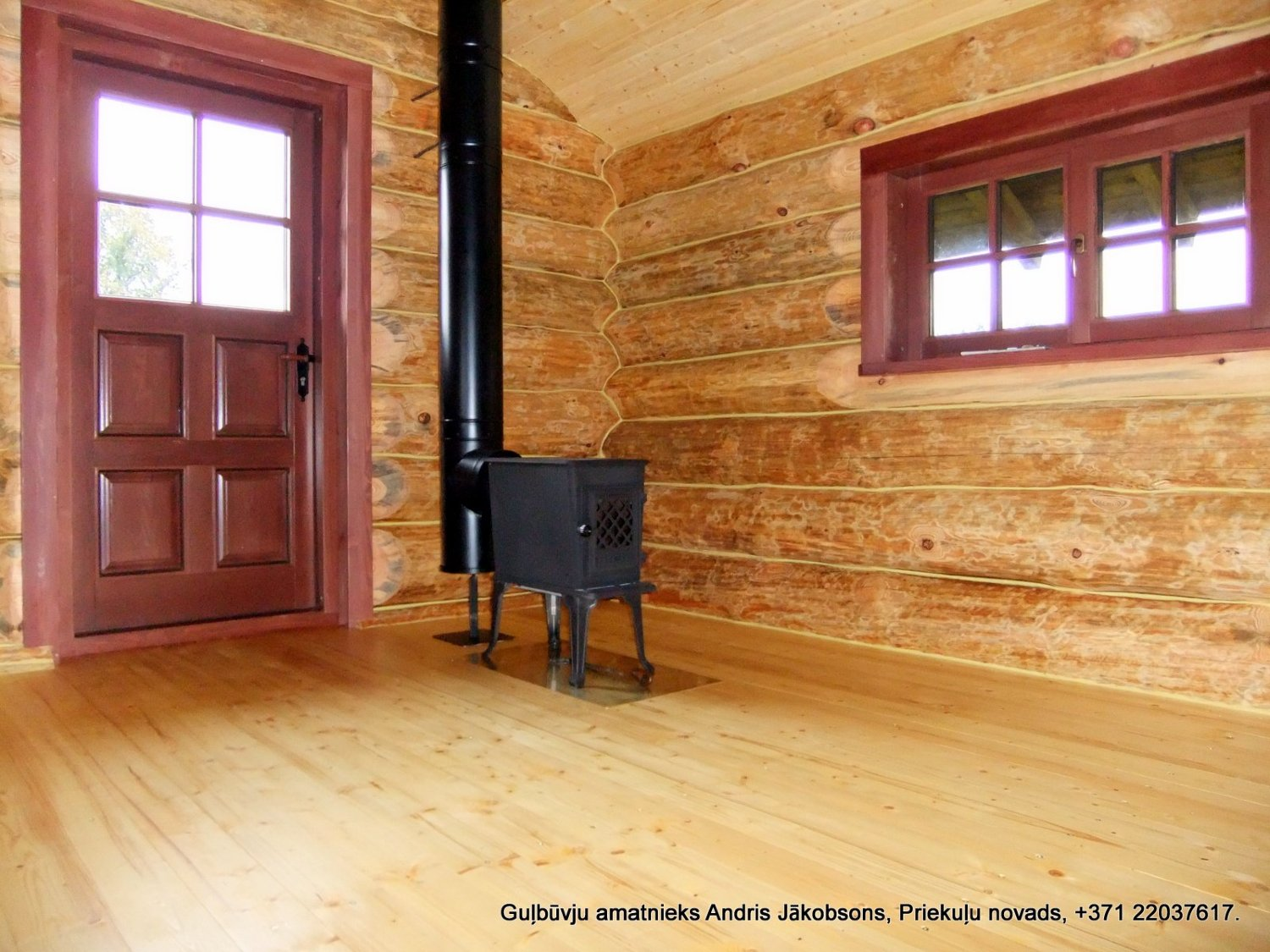 Sealant for log houses GULBUVE pine