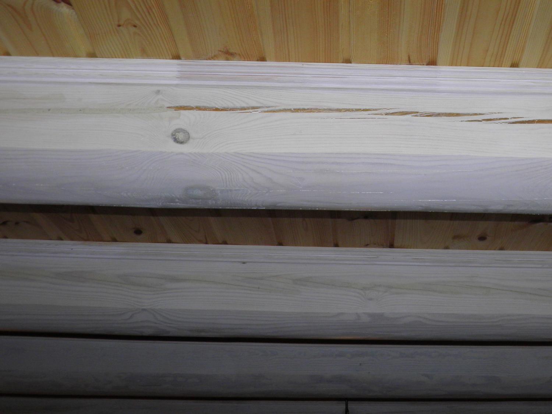 Sealant LOG CHINK for log house gray