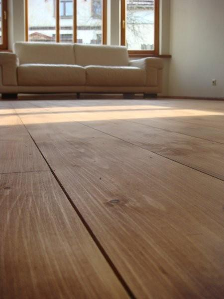 Linseed paint NATURA brown mixed with natural FLOOR oil
