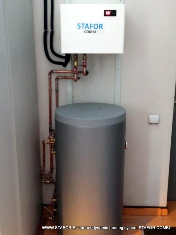 STAFOR COMBI termodinamiskā sistēma