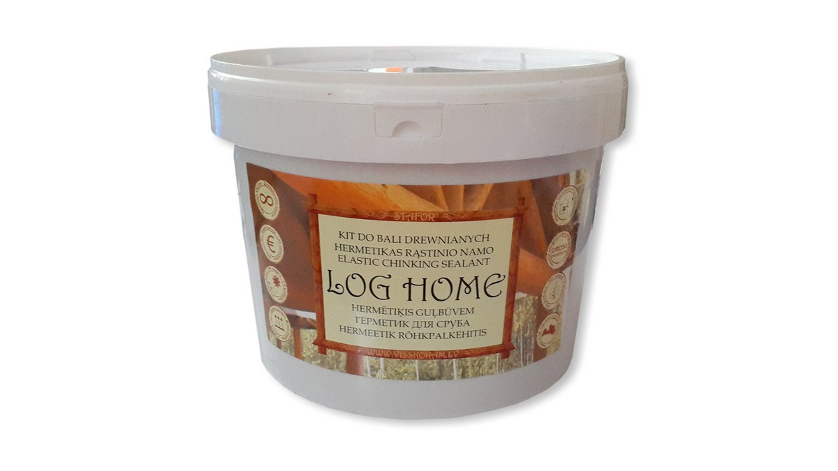 Hermētiķis LOG HOME 10l