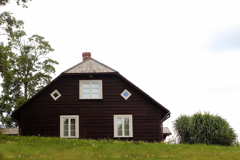 Шведская краска коричневая