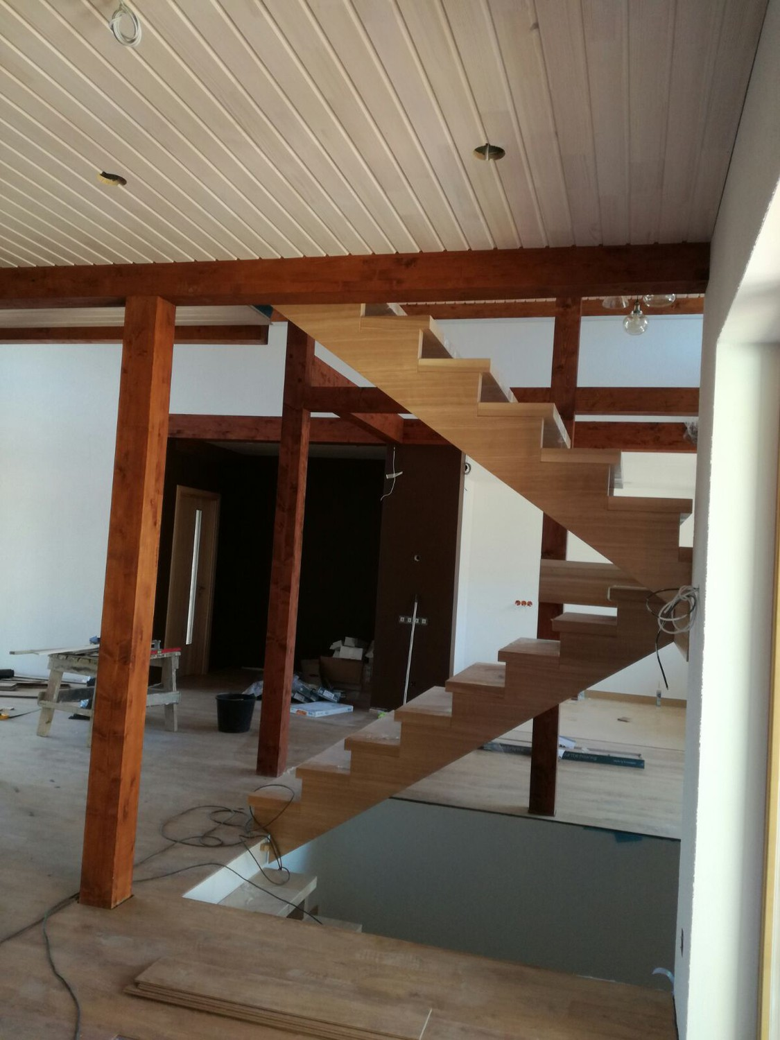 Linseed paint - stain NATURA white