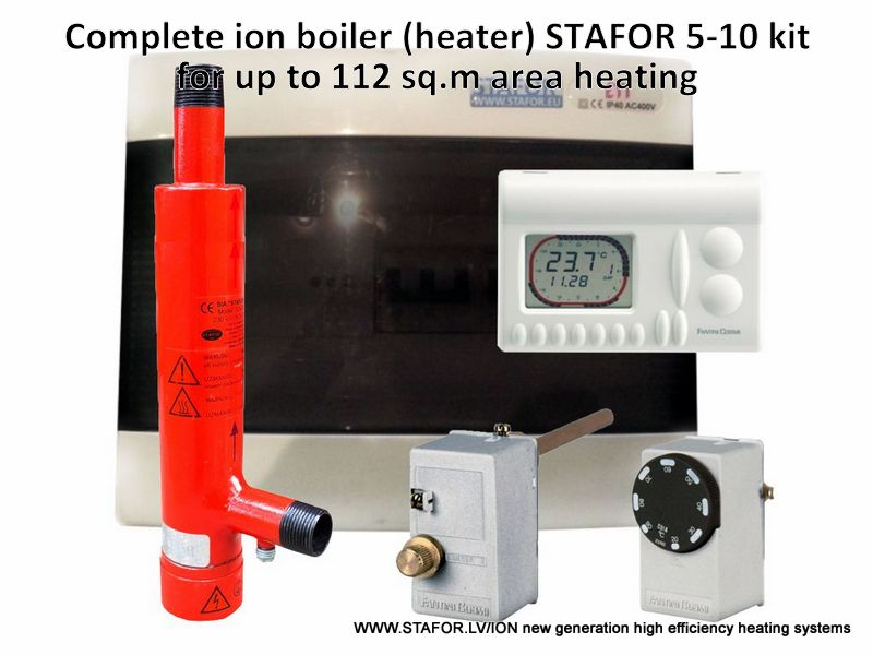 Ion boiler (heater) STAFOR 5-10kW complete set