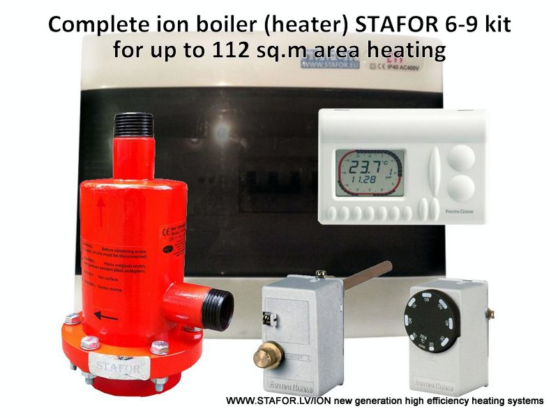 Ion boiler (heater) STAFOR 6-9kW complete set