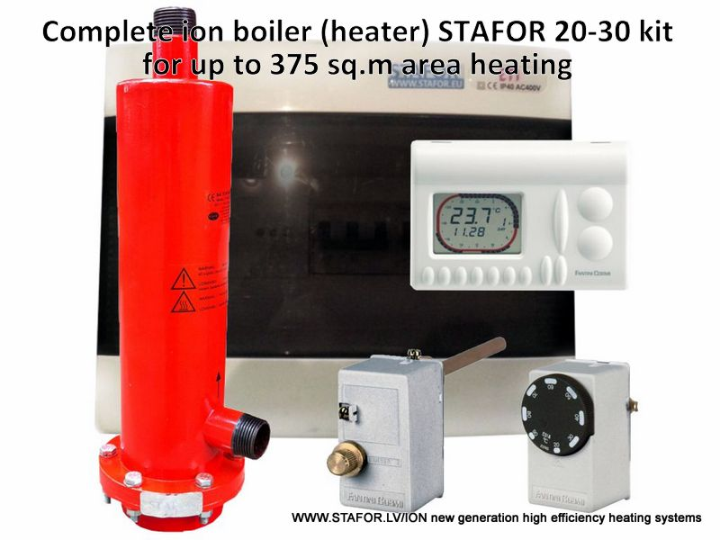 Ion boiler (heater) STAFOR 20-30kW complete set