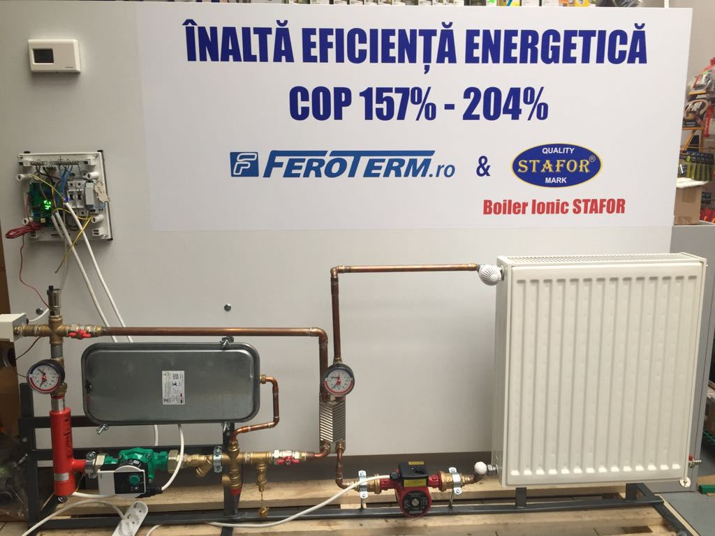 FEROTHERM and ion boilers in Romania