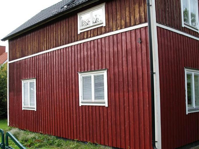 Švediški dažai raudona