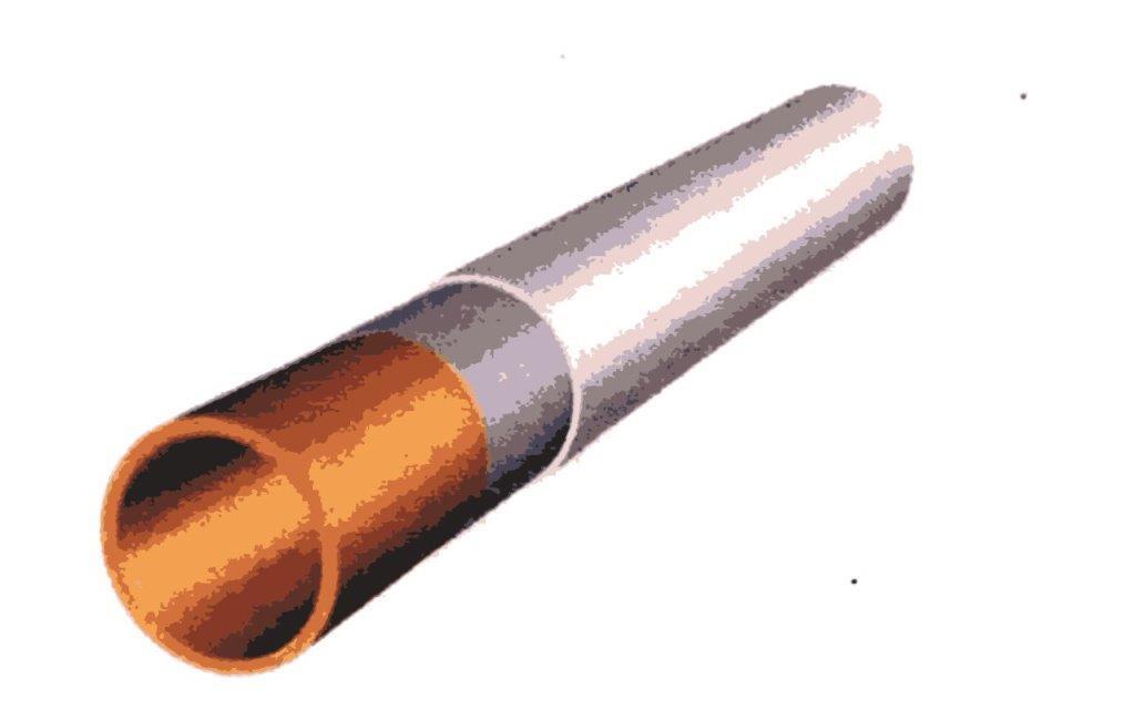Caurule siltināta ar STAFOR termokrāsu