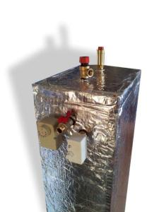 Ion boiler with heat exchanger STAFOR HE