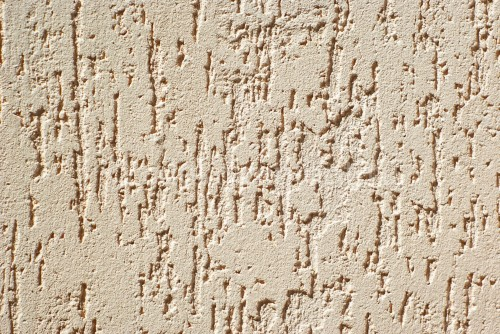 Heat Resistant Decorative Plaster Rustic Texture